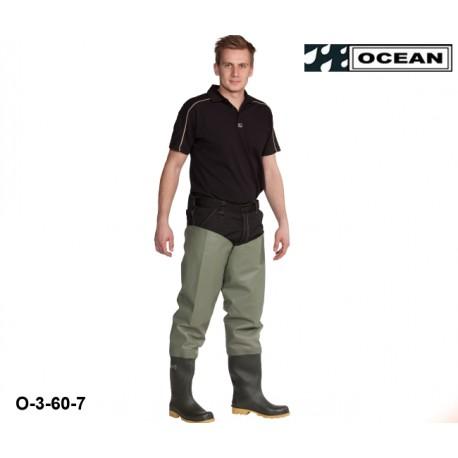 Seestiefel / Watstiefel Classic OCEAN 3-60 hohe Strapazierfähigkeit! zum fischen, angeln, waten