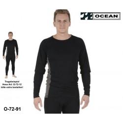 Flammhemmendes antistatisches Unterhemd Ocean Thor Lenzing® FR/AST EN11612, EN1149-3