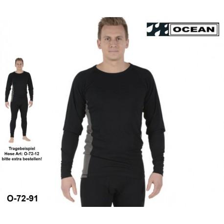 Flammenhemmendes Unterhemd Ocean Thor Lenzing® FR/AST EN11612 und EN1149-3