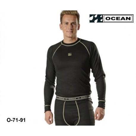 Funktionsunterwäsche Langärmliges Unterhemd Ocean Thor 71-91 Poly-dacron