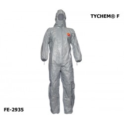 Chemie-Schutzanzug DuPont™ TYCHEM® F Overall PSA Kategorie 3 Typ 3-B/4-B/5-B/6-B