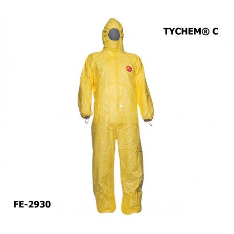 Chemie-Schutzanzug DuPont™ TYCHEM® C - TYVEK® Overall PSA Kategorie 3 Typ 3-B/4-B/5-B/6-B 1