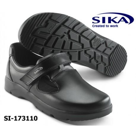 SIKA Berufsschuh- Sandale O1 OPTIMAX Küche/Metzger, Medizin/Pflege weiß oder schwarz