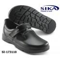 SIKA Berufschuh- Sandale O1 OPTIMAX 173110 Küche und Metzgerei, Medizin und Pflege weiß und schwarz