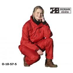 Freizeitanzug DeLuxe Ocean 10-57 Atmungsaktiver Regenanzug rot in hochwertiger Ausführung
