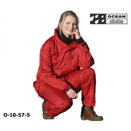 Freizeitanzug DeLuxe Ocean 10-57 Atmungsaktiver Regenanzug rot in hochwertiger Ausführung det
