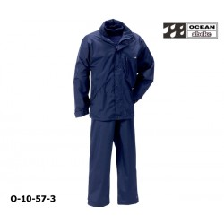 Freizeitanzug DeLuxe Ocean 10-57 Atmungsaktiver Regenanzug marine in hochwertiger Ausführung