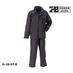 Freizeitanzug DeLuxe Ocean 10-57 Atmungsaktiver Regenanzug schwarz in hochwertiger Ausführung