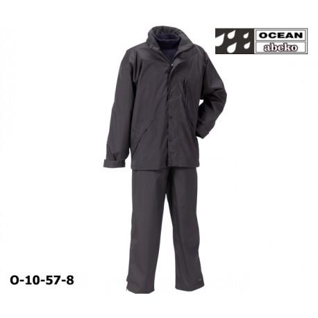 Freizeitanzug DeLuxe Ocean 10-57 Atmungsaktiver Regenanzug schwarz in hochwertiger Ausführung det 3