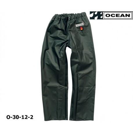 OCEAN Fischerei-Bundhose, 30-12 olive Regenbekleidung, 325g PVC, Landwirtschaft & Fischerei