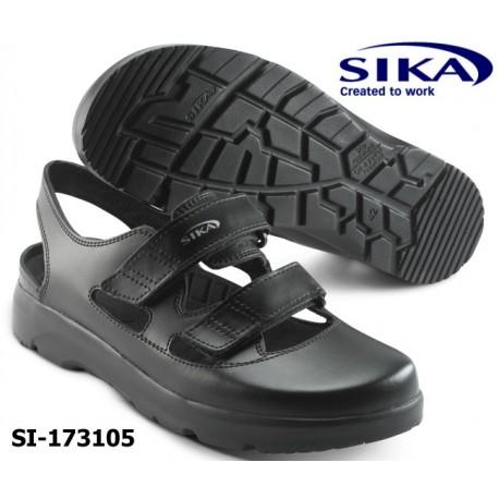 SIKA Berufssandale OPTIMAX OB Medizin / Pflege / Küche weiß oder schwarz