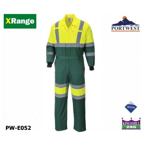 Warnschutz Overall Portwest X-Range Farmer - Komfort, Haltbarkeit und Sicherheit