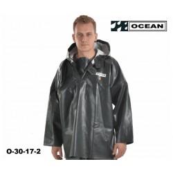 OCEAN Offshore, 30-17- Fischerei-Regenbekleidung, Ölhemd - Smock, olivgrün, Landwirtschaft & Fischerei
