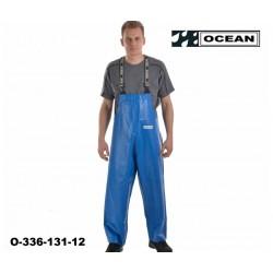 Comfort Cleaning Latzhose mit Knieverstärkung Ocean 336-131Königsblau