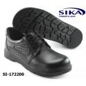 SIKA Sicherheitsschuh S1 OPTIMAX 172200, Schnürschuh,weiß oder schwarz, Küche / Fleischerei
