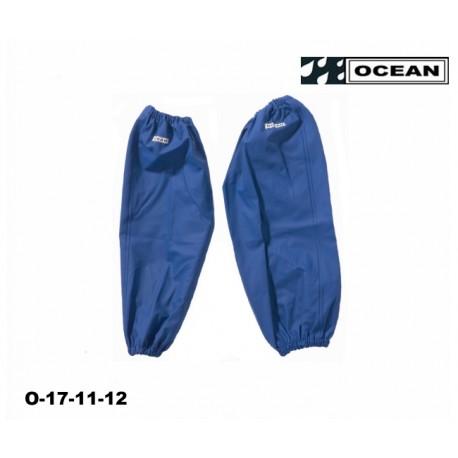 Ärmelschoner Ocean EN 343 PVC auf Polyester-Trägergewebe königsblau
