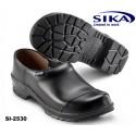 SIKA Clog 2530 COMFORT OB - Berufsclog geschlossen schwarz mit Überkappe