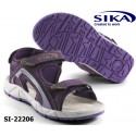 Sika Berufssandale OB LADY Motion 22206 Work & Trekking-Sandale violett oder blau