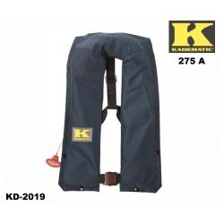 Rettungsweste Kadematic® 275 A blau Vollautomatik Norm DIN EN ISO 12402-2