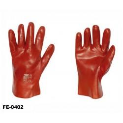 stronghand® Vinyl Handschuhe rot 27 cm Profi-Qualität für Landwirtschaft, Handwerk, Industrie