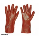 stronghand® Vinyl Handschuhe rot 35 cm Profi-Qualität für Landwirtschaft, Handwerk, Industrie