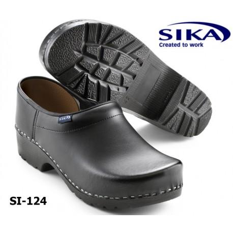 "Sika Clogs ""Traditionell"" geschlossen schwarz"
