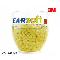 Gehörschutz, Stöpsel, Refill-Aufsatz, 3M E.A.R Soft 500 Paar für One-Touch-Spender