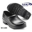 Sika Clogs Flexika 1185 - Komfortable FLEX Clogs geschlossen schwarz