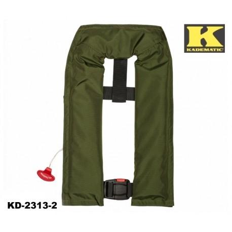 Rettungsweste Kadematic® Nautomatik SNIP-P olivgrün sehr beliebt bei Anglern!