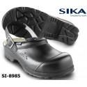 SIKA Sicherheitsclog 8985 FLEX LBS SB weiß und schwarz