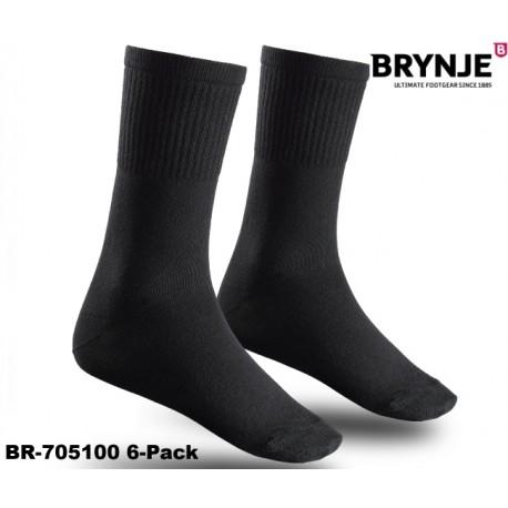 Brynje Socken BASIC 6-Pack für Arbeit, Sport und Freizeit