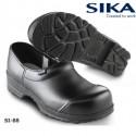 SIKA Sicherheitsclog FLEX S2 schwarz geschlossen mit Stahlkappe