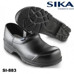 SIKA Sicherheitsclog FLEX S3 schwarz geschlossen mit Stahlkappe
