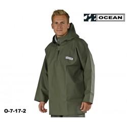 OCEAN Heavy Duty Ölzeug, Regen Smock / Fischerbluse, Waldarbeiter- Regenbekleidung