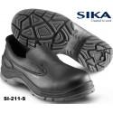 S2 Sicherheitsschuhe - Sika Limber 211 Easy Low Slipper schwarz, Halbschuhe - Breite Passform