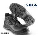 S2 Sicherheitsschuhe- Sika Limber 216 Beat Mid schwarz Hochschuhe - Breite Passform - Metallfrei