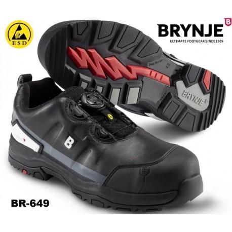 S3 Sicherheitsschuh Brynje 649 DRIZZLE mit BOA® -Schließsystem und ESD zugelassen!