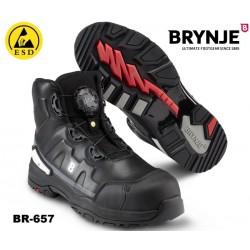 S3 Sicherheitsstiefel Brynje 657 STORM mit BOA® -Schließsystem und ESD zugelassen!