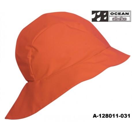 Südwester orange, Kordfutter für Fischerei, Landwirtschaft und Freizeit OCEAN-ABEKO