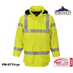 Regen Warnschutzjacke Multinorm Bizflame™ PORTWEST® gelb