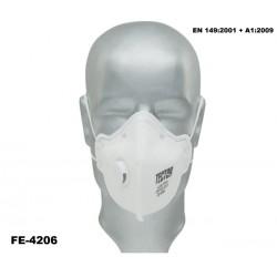 Feinstaub-Faltmaske FFP3 Karton 240 Stück TECTOR mit Ausatmungsventil günstig