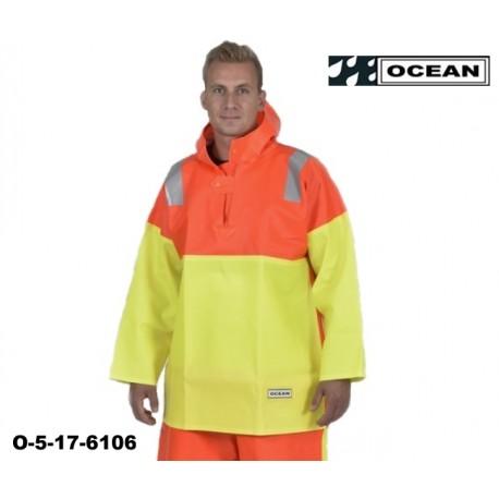 Fischerei Schlupfjacke Ocean Nordsee gelb orange