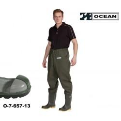 Sicherheits-Hüft-Wathose - S5 Sicherheitsstiefel OCEAN de Luxe 7-657