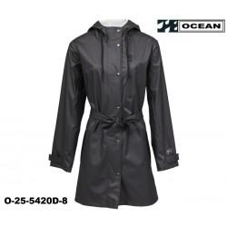 Damen Regenjacke PURE OCEAN schwarz