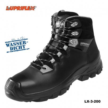 S3 Sicherheitsstiefel LUPRIFLEX® LX 3-200 Bauflex, wasserdicht, Klimamembran, Überkappe
