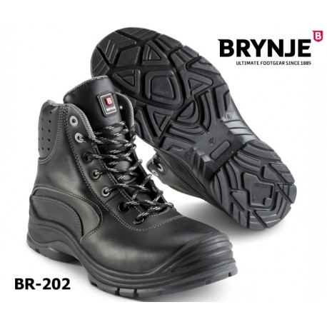 S3 Sicherheits-Schnürstiefel 100 % Metallfrei, SRC Brynje Force Boot