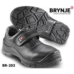 S3 Sicherheits-Halbschuh, Brynje 203, mit Klettverschluss, Force Velcro Metallfrei
