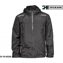 High Performance Herren Regenjacke schwarz Ocean Outdoor