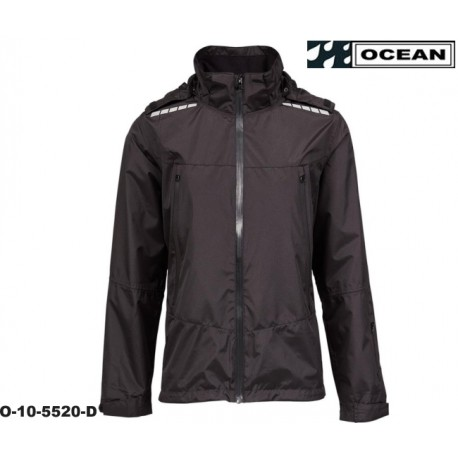 High Performance Damen Regenjacke schwarz Ocean Outdoor