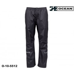 High Performance Regenhose Regular schwarz Ocean Outdoor nah 1